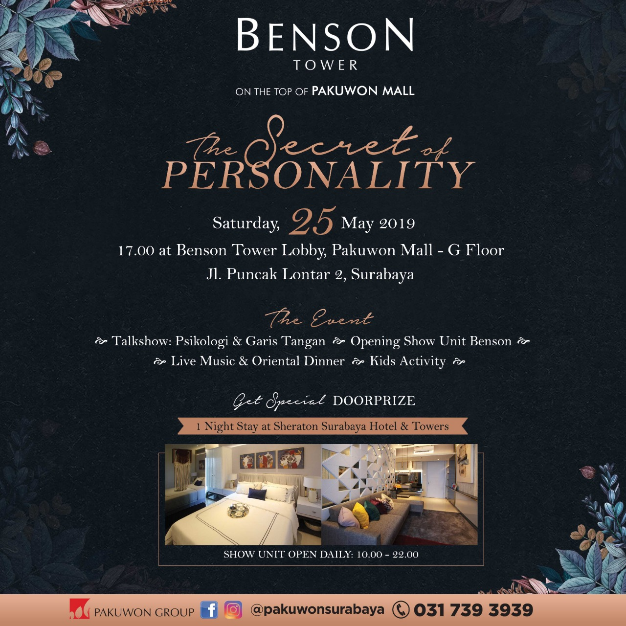 The Secret of Personality at Benson Tower