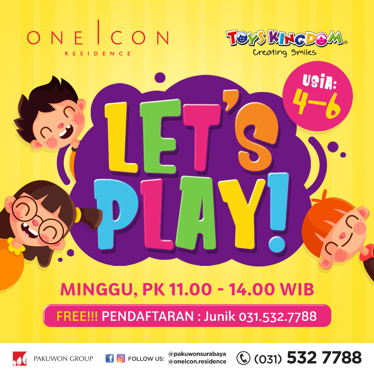 Lets Play with One Icon and Toys Kingdom