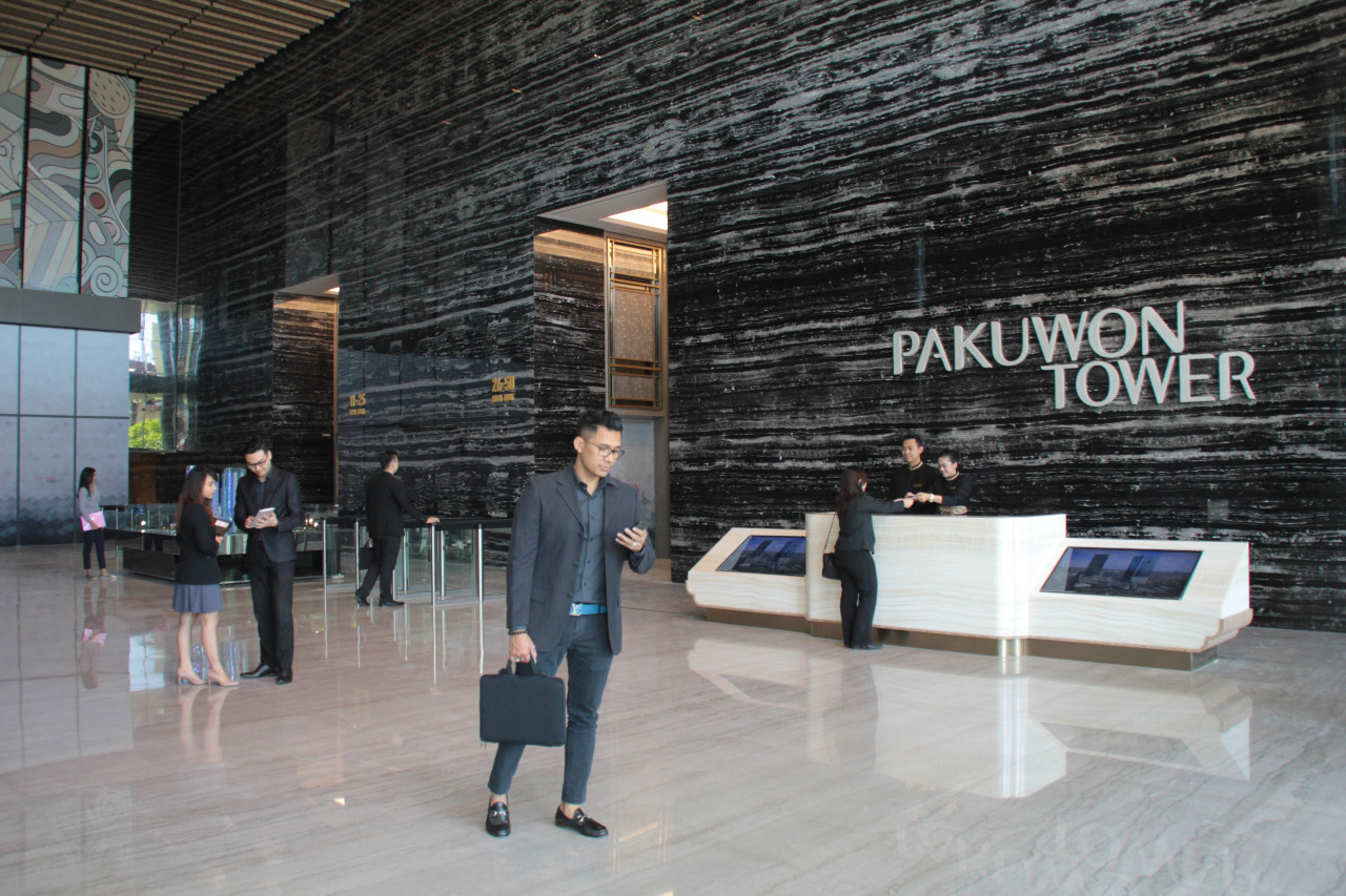 Pakuwon Tower lobby