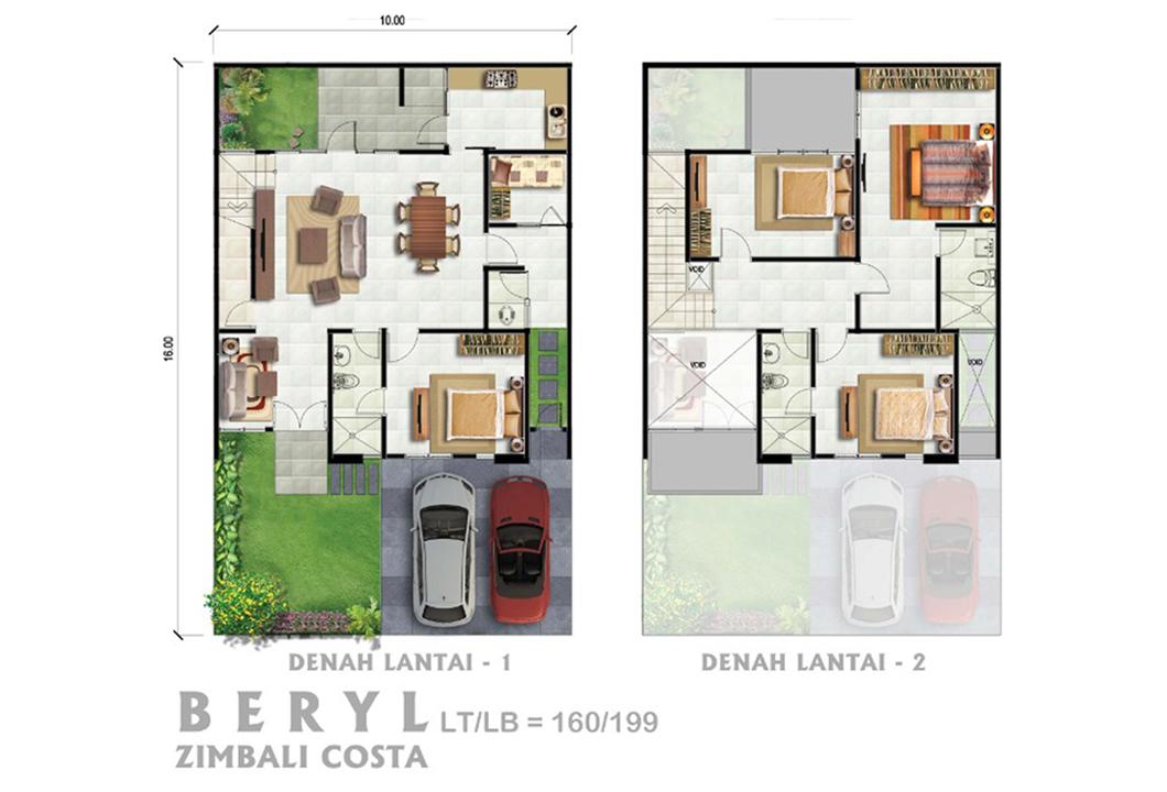 Beryl floorplan